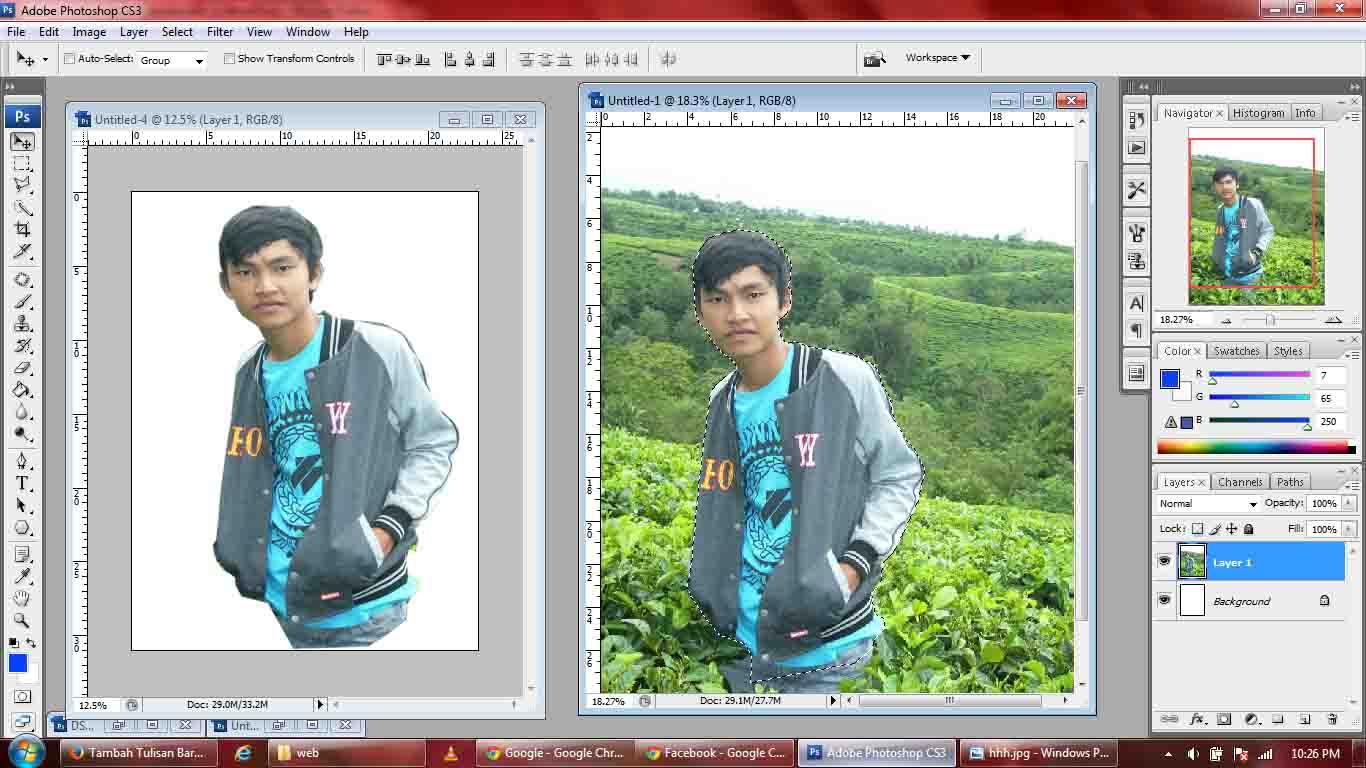 Cara Menggunakan Adobe Photoshop Cs3 Dapur Desain